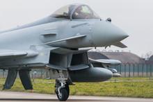 RAF Typhoon FGR4 Taxiing To Th...