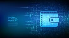 Digital Wallet. Wallet Icon Ma...