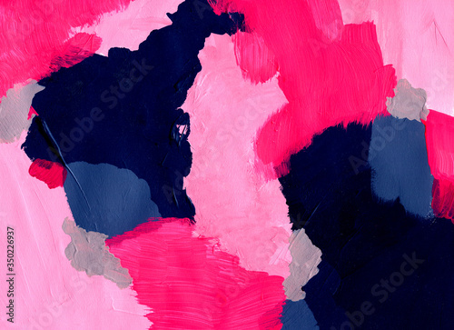 abstract acryl painted background Wallpaper Mural