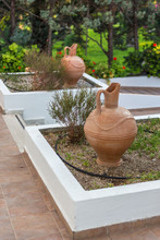 Two Amphorae In The Park