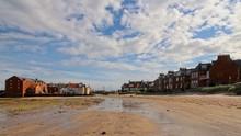 North Berwick West Beach, Looking East Towards Harbour