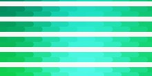 Light Green Vector Pattern Wit...