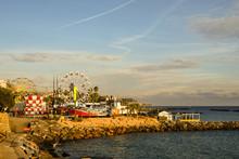 Scenic View Of The Amusement P...
