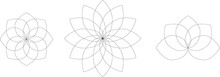 Lotus Design Mandala Coloring Page