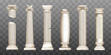Ancient Roman Columns, Marble ...