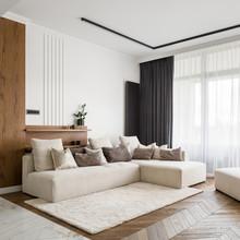 Elegant And Bright Living Room