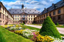 Stadtschloss (City Palace) In Fulda. The Baroque Residence Was Built From 1708 To 1714.
