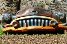 Vintage Buick Grill