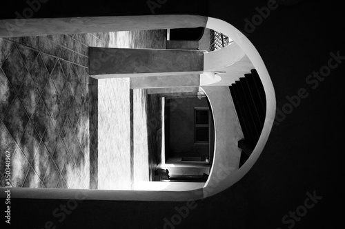 Archway Entrance Of Old Building Fototapeta