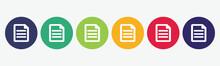 Big Set Of Document Icon Isola...