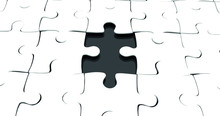 A  Vector Of  A Jigsaw Puzzle ...