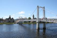 Greig St Bridge Over River Ness
