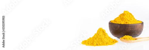 Canvas-taulu Yellow Curry Seasoning - Organic curry powder