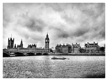 Scenic View Of River Thames By...