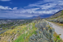 Provo Landscape And Utah Lake ...