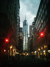One World Trade Center At Dusk