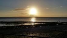 Idyllic Shot Of Solway Firth A...