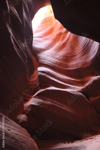 The view of Antelope Canyon