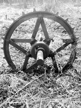 Agricultural Machine Part In Field