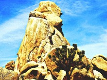 View Of Rock Formations Agains...