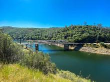 Salmon Falls Bridge Along Darr...