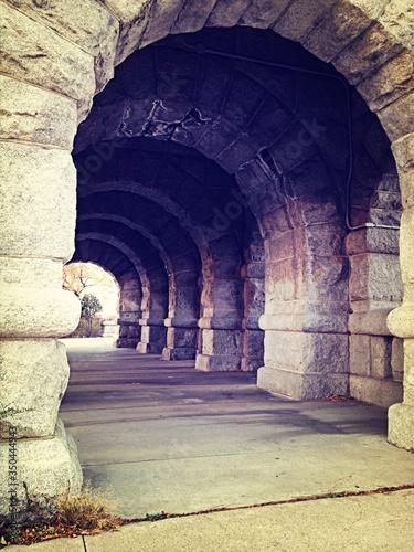 View Of Stone Archway Fototapeta