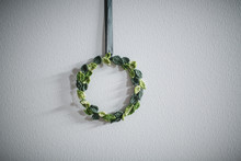 Knitted Wreath