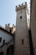 Tower of Scaliger Castle, Sirmione, Lombardy, Italy.