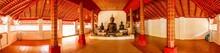 Black Buddha Statue Of Wat Pha Lat