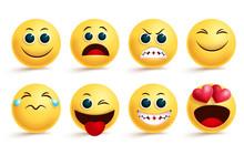 Smiley Emoji Vector Set. Emoji...