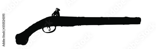 Photo Musket silhouette