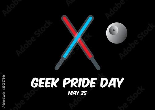 Geek Pride Day vector Wallpaper Mural