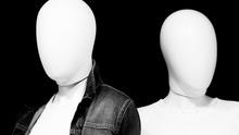 Faceless Mannequins In Shop Wi...