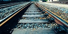 Train Rail To Infinity