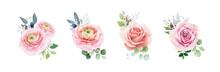 Floral Romantic Bouquets For W...