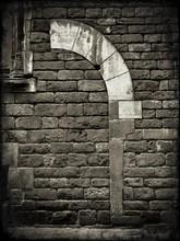 Brick Wall Of Building