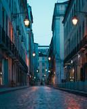 Fototapeta Uliczki - Empty Streets Of Lisbon