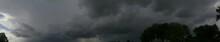 Panorama Of Stormy Sky