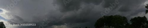 Fotografía Panorama Of Stormy Sky