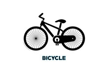 Bicycle Vector. Bicycle Icon O...