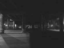 Street Under Bridge