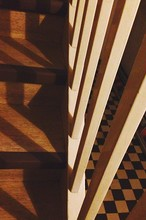Close-up Of Cropped Railings