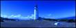 Leinwandbild Motiv View Of White Lighthouse
