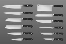 Kitchen Knives Set, Meat Chef ...