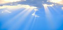 The Sun's Rays Break Through T...