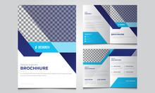 Business Bifold Brochure. Broc...