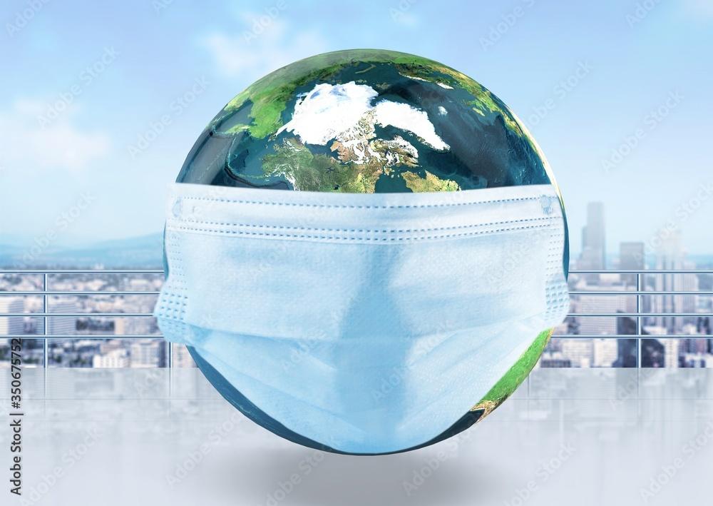 Fototapeta Background coronavirus prevention.