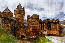Towers And Walls Of The Castle...