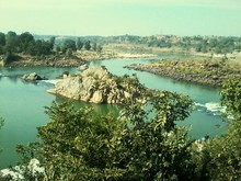 High Angle View Of River