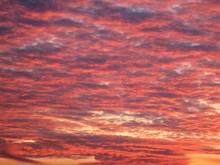 Full Frame Shot Of Red Sky